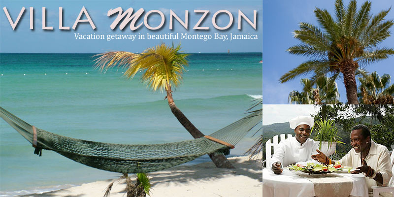 Villa Monzon: Vacation getaway in Beautiful Montego Bay, Jamaica.